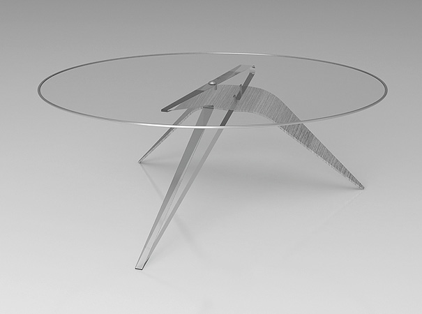 Crucifixion Coffee Table 1
