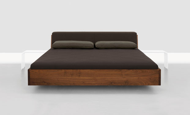 Fusion Solid Wood Bed by Zeitraum 2