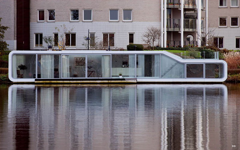 Watervilla De Omval Houseboat by Plus31 Architects 2