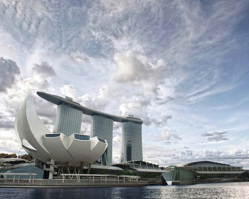 ArtScience Museum at Marina Bay Sands 1