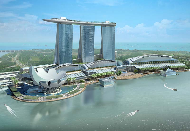 ArtScience Museum at Marina Bay Sands 7