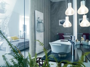 Axor Urquiola - A Bathroom with Feminine Point of View