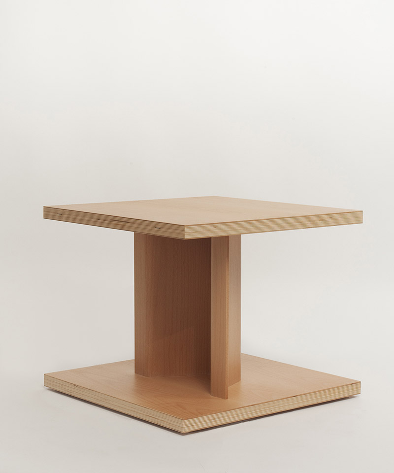Bit Side Table by Chris Martin for Massproductions 2
