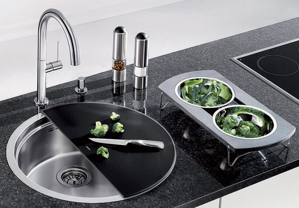 Multipurpose Kitchen Bowl Sink BLANCORONIS 3