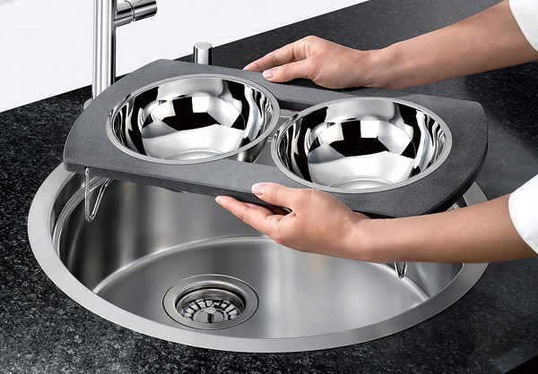 Multipurpose Kitchen Bowl Sink BLANCORONIS 4