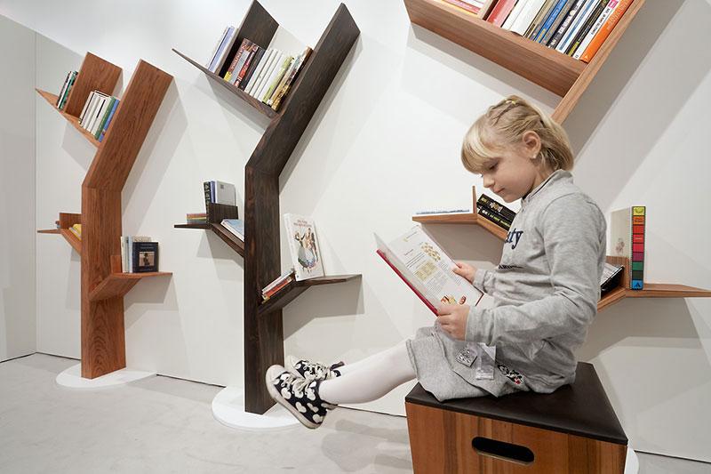 Bookcase Tree by Kostas Design 2