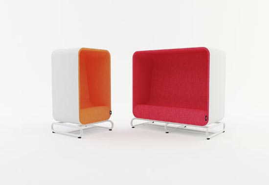 Box Sofa and Box Lounger by Loook Industries 2