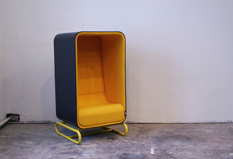 Box Sofa and Box Lounger by Loook Industries 6