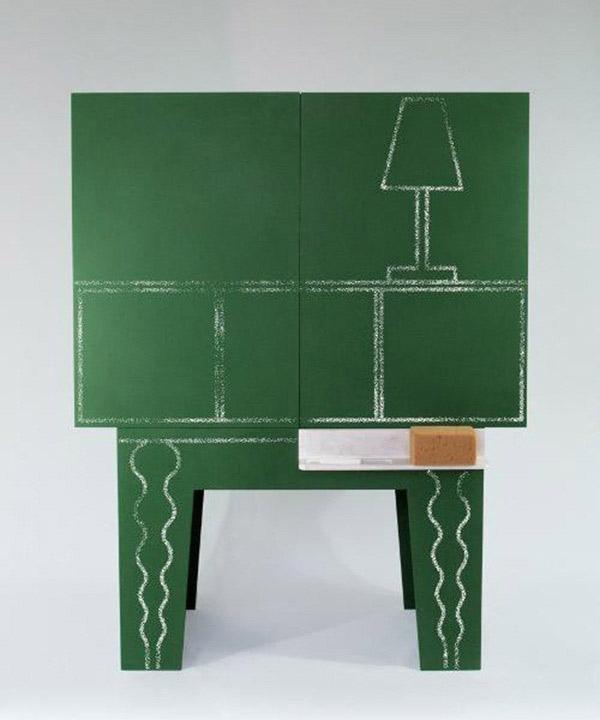 Blackboard - Chalkboard storage cabinet 3