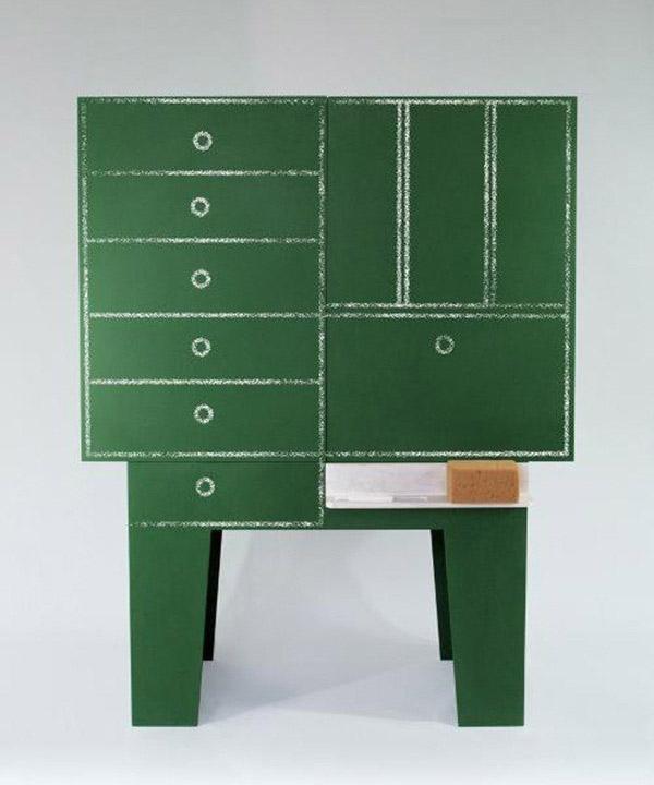 Blackboard - Chalkboard storage cabinet 4