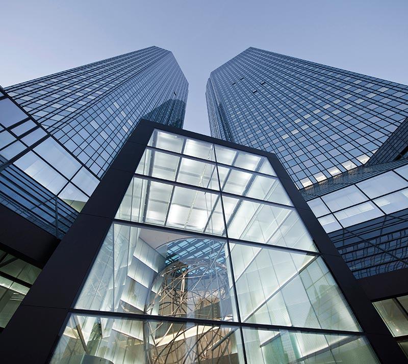 Deutsche Bank entrance sphere by Mario Bellini architects 4