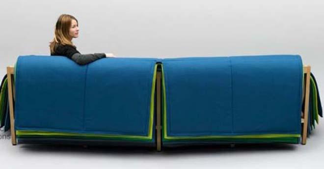 Colorful Living Room Furniture Filo Sofa 3