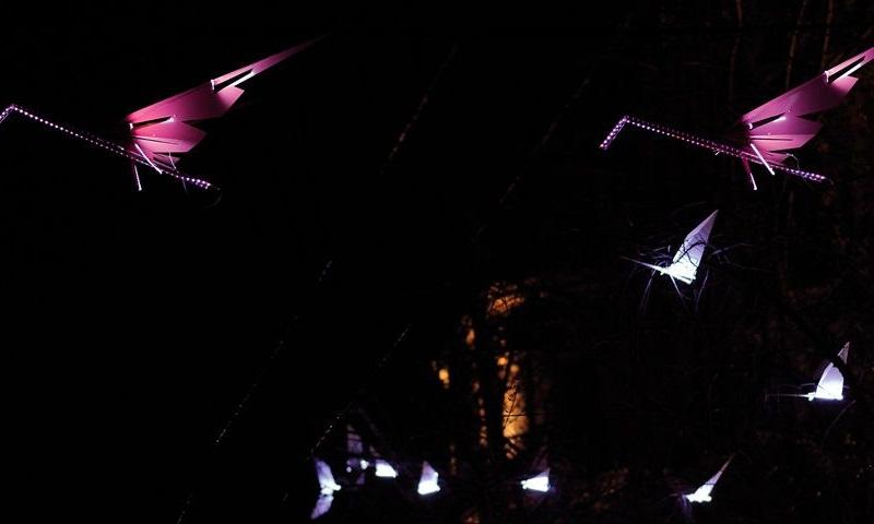 Lumigrateurs Light Collection Flamingos Lamp 2