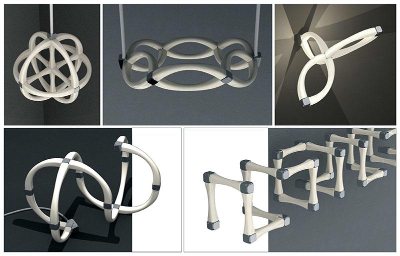 Flexible Modular Lighting System Modli 1