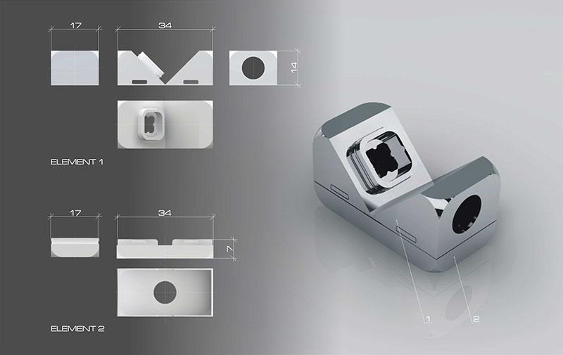 Flexible Modular Lighting System Modli 6