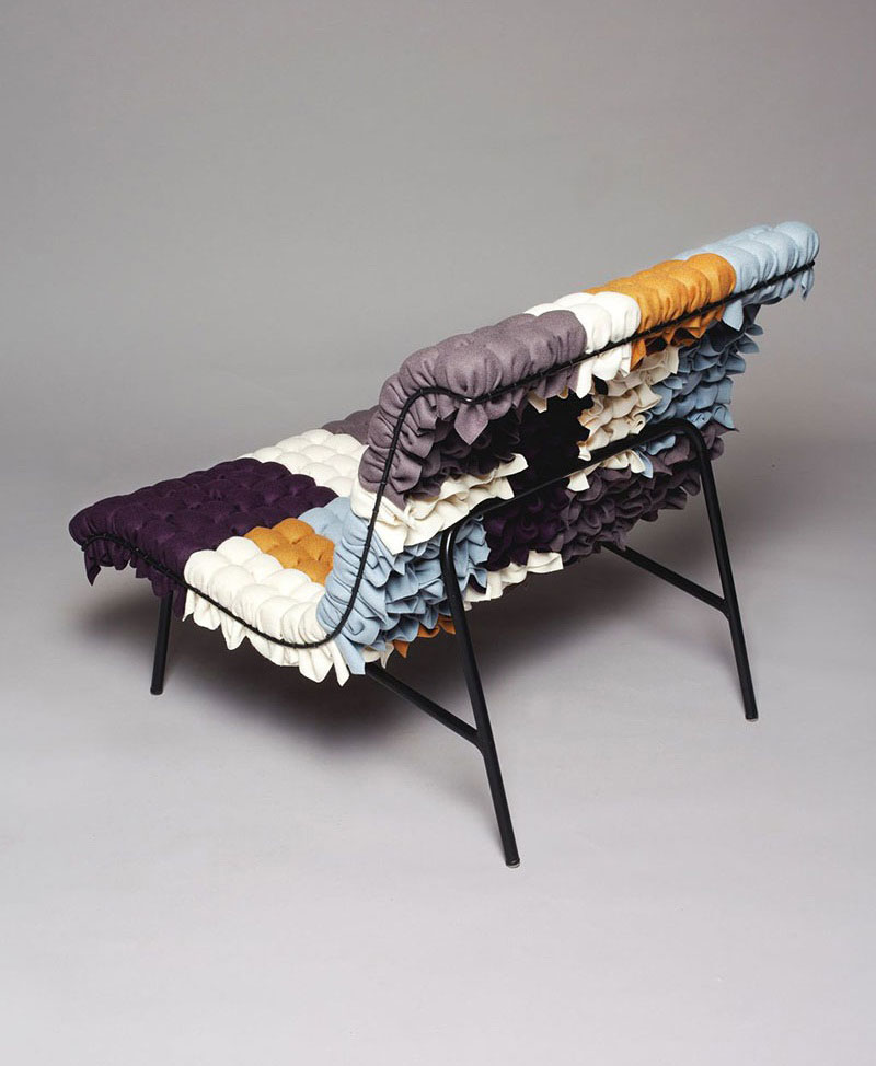 Mosaiik colorful lounge chair by Annika Goransson 4