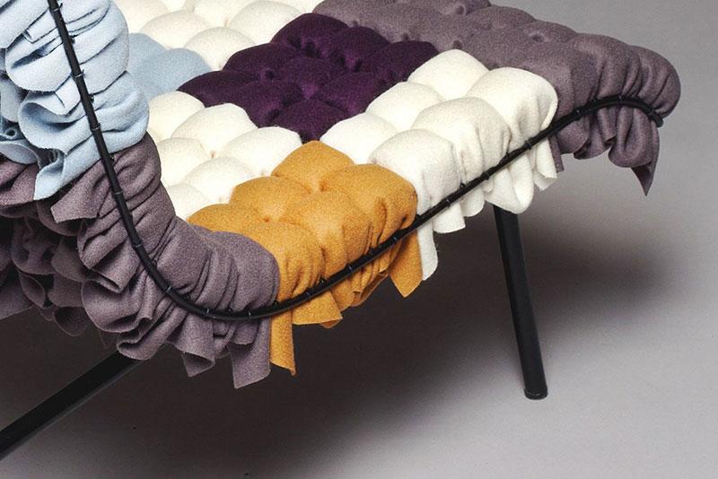 Mosaiik colorful lounge chair by Annika Goransson 5