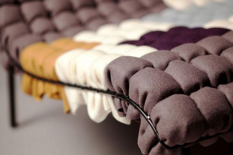 Mosaiik colorful lounge chair by Annika Goransson 6