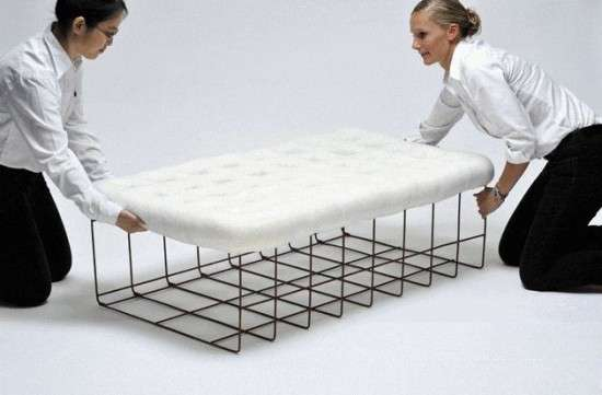 Snow lounger design by Noji Berlin 2
