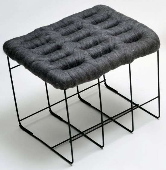 Sheep stool design by Noji Berlin 2
