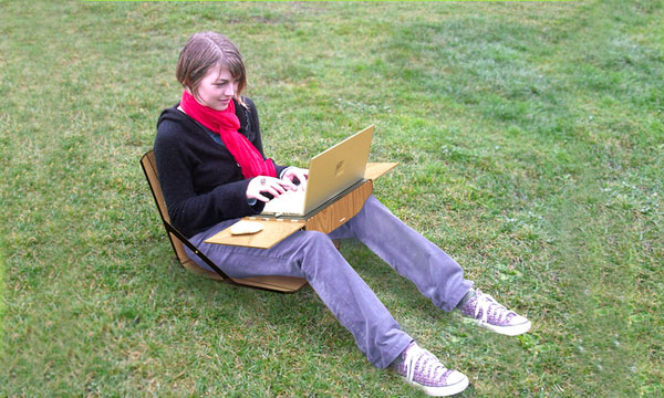 Openaire laptop case and chair