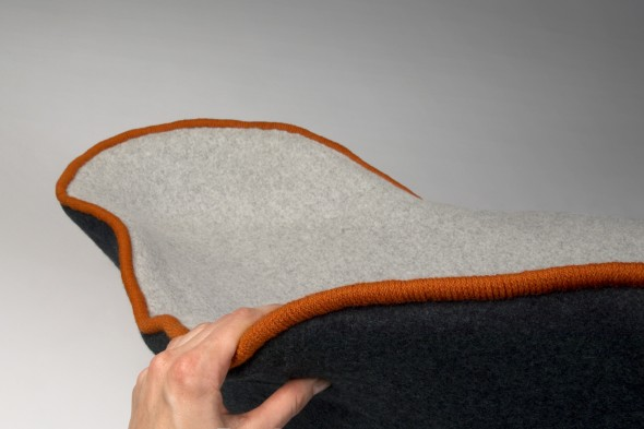 Unique Upholstered Sofa Ostrea by Annika Goransson 8
