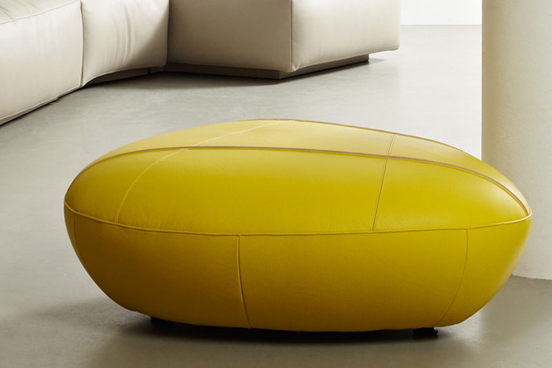 Boulder-Shaped Footstool Piatra by Leolux 5