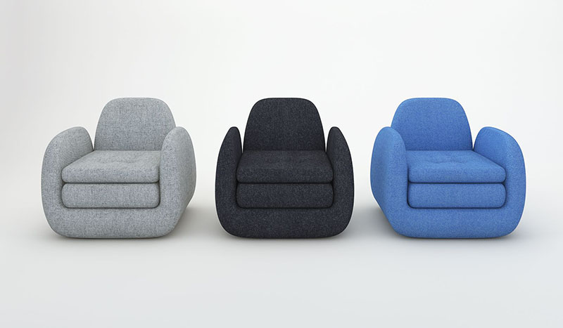 Royale Armchair by Beaverhausen for INDERA 2