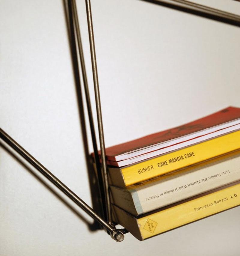 Minimalist bookshelf design Tensor Voting