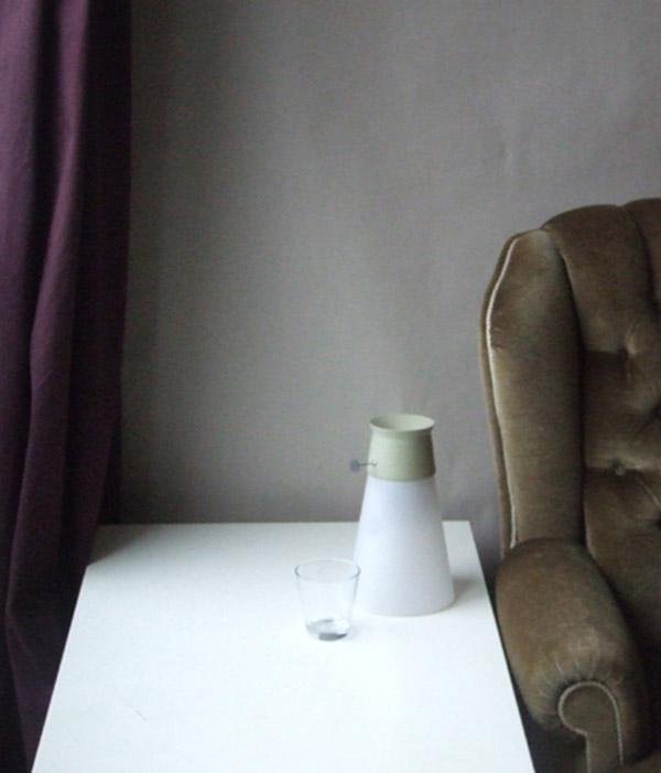 Unique water lamp design