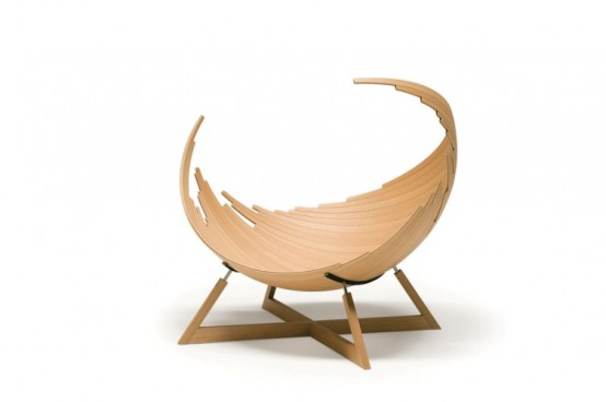 Barca Chair Shaped Like a Ship 4