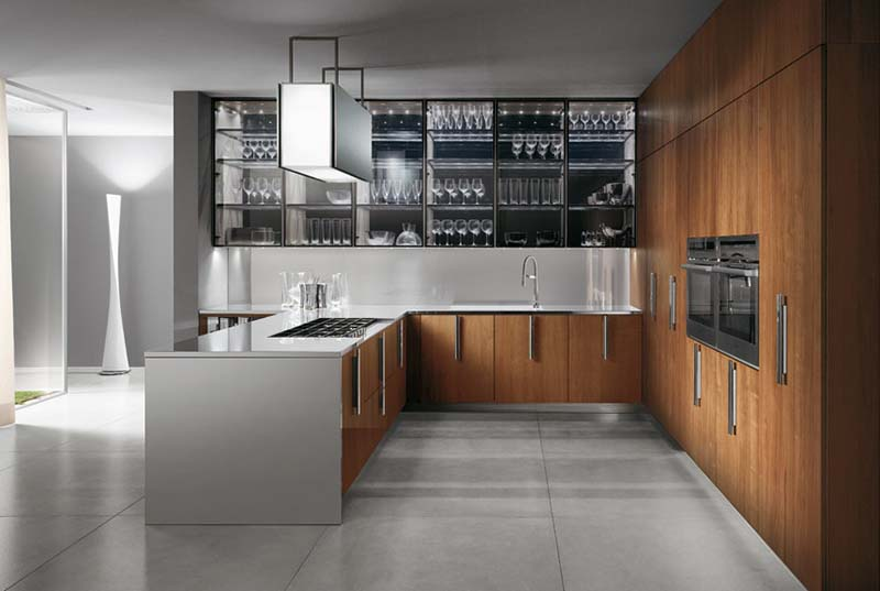 Salon Moderne Et Design : barrique is a modern kitchen series designed by rodolfo dordoni for
