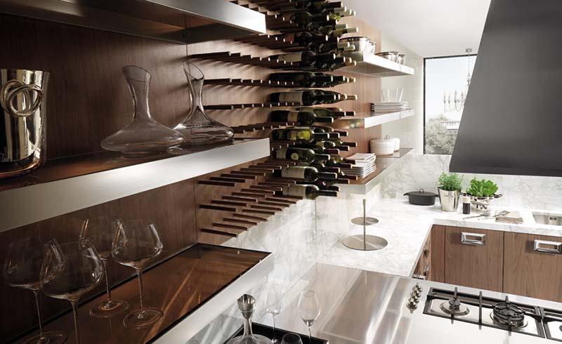 Modern Italian Kitchen design Barrique 11