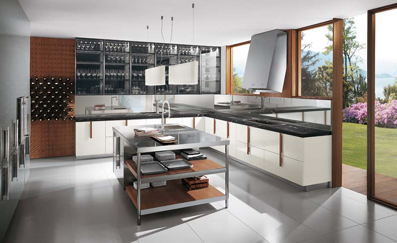 Barrique Kitchen by Italian company Ernestomeda 5