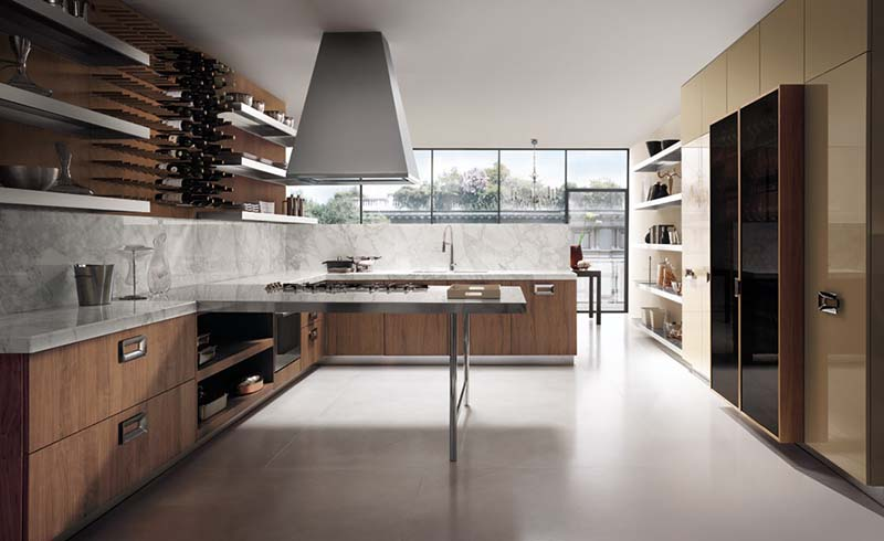 Modern Italian Kitchen Design Barrique 8