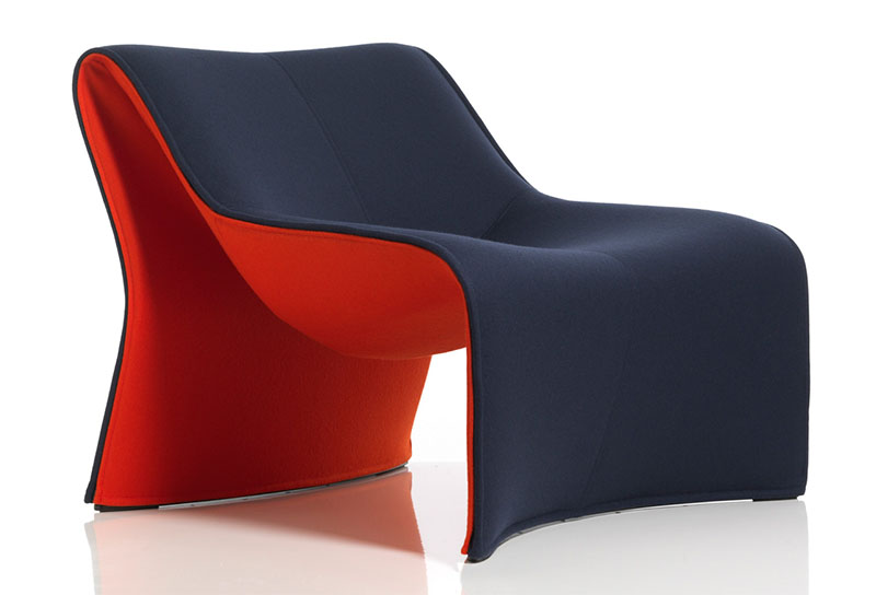 Comfortable Armchair Cloth by CASSINA 1