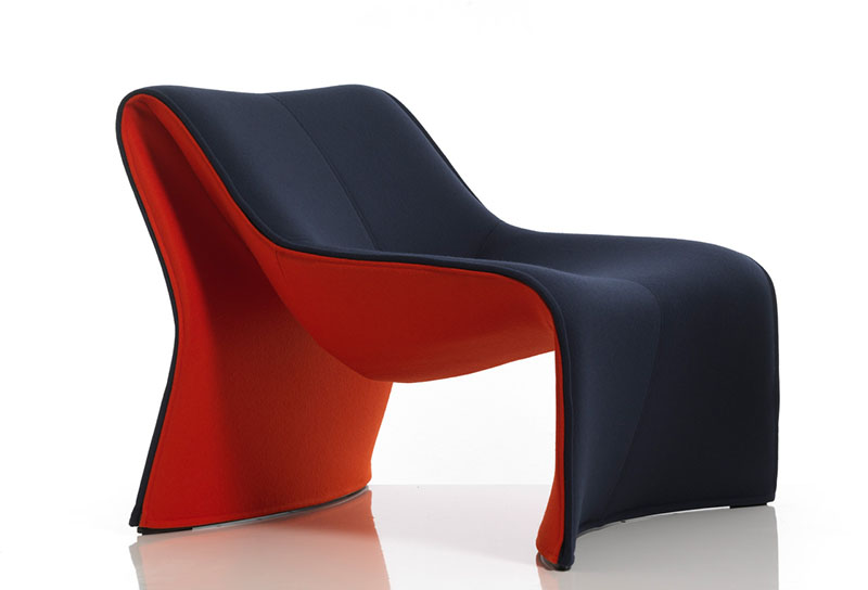comfortable armchair cloth by cassina 2