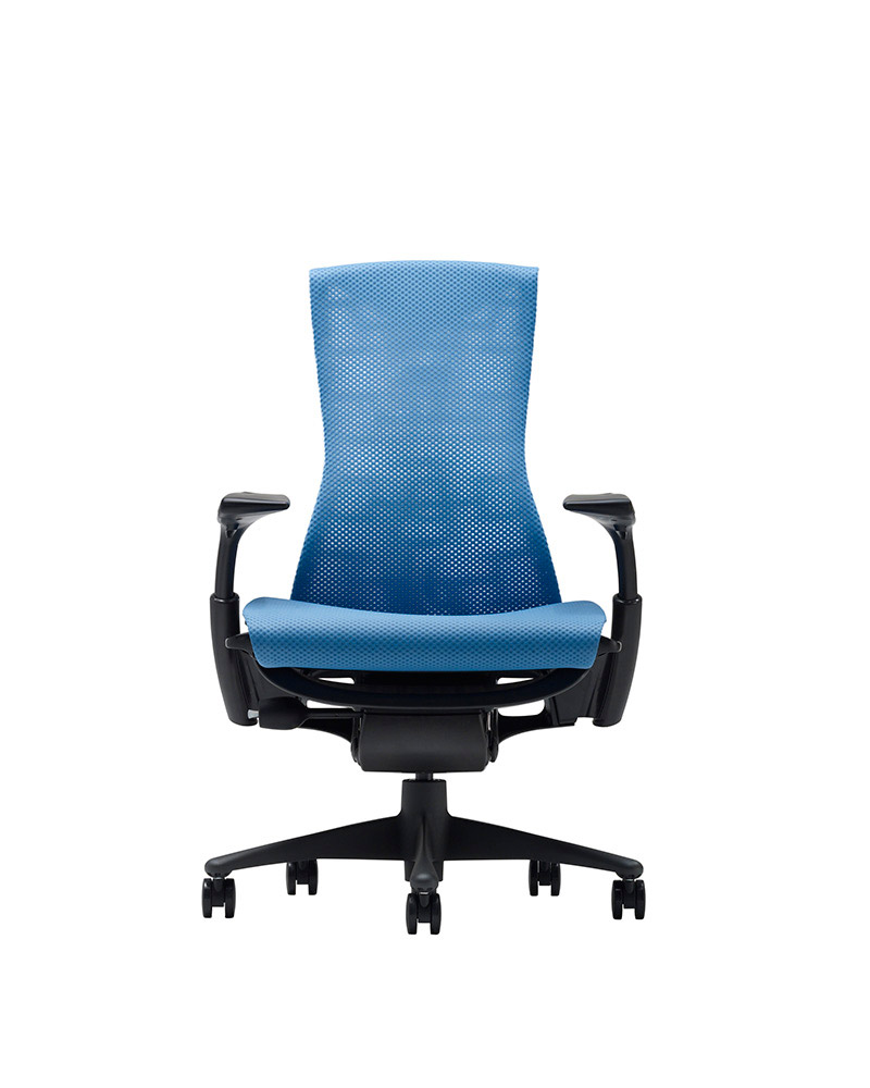 Blue Color Embody Chair by Herman Miller