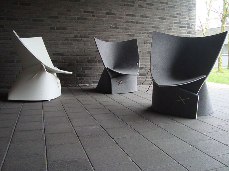 autumn inspiration: 10 modern leaf-inspired chair designs, Mobel ideea