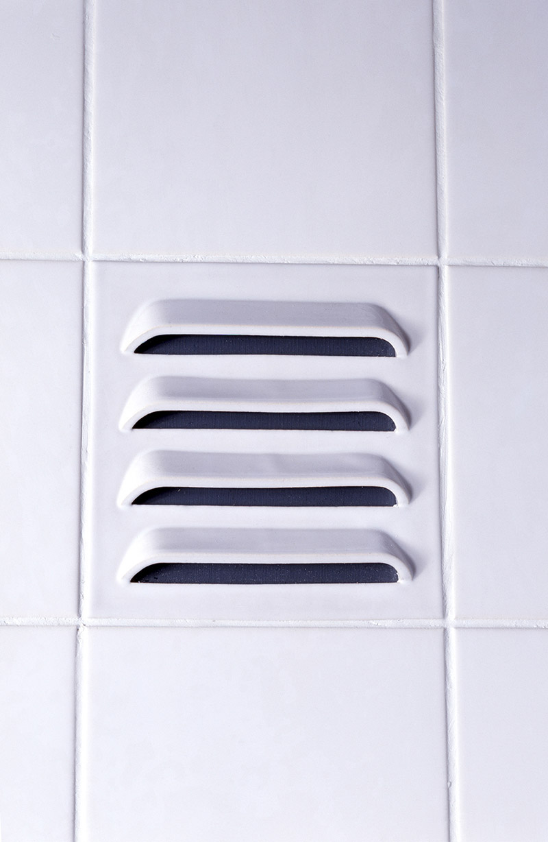Functional Tiles with vents by DTILE