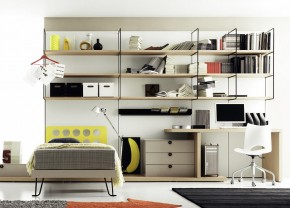 Gradient Walk-In Wardrobe for Modern Living