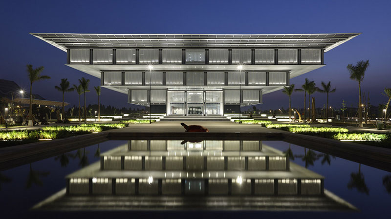 Hanoi Museum in Vietnam by GMP Architects 1