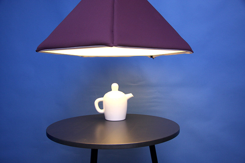 Industry upholstered pendant Lamp by Jonas Wagell 5