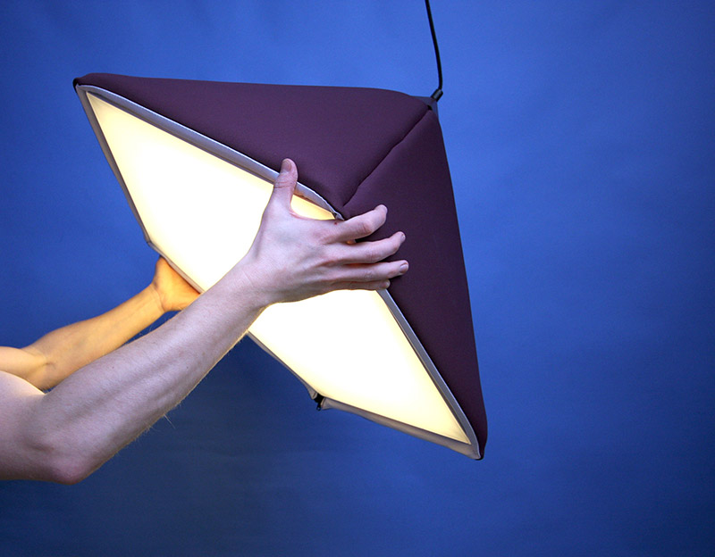 Industry upholstered pendant Lamp by Jonas Wagell 6