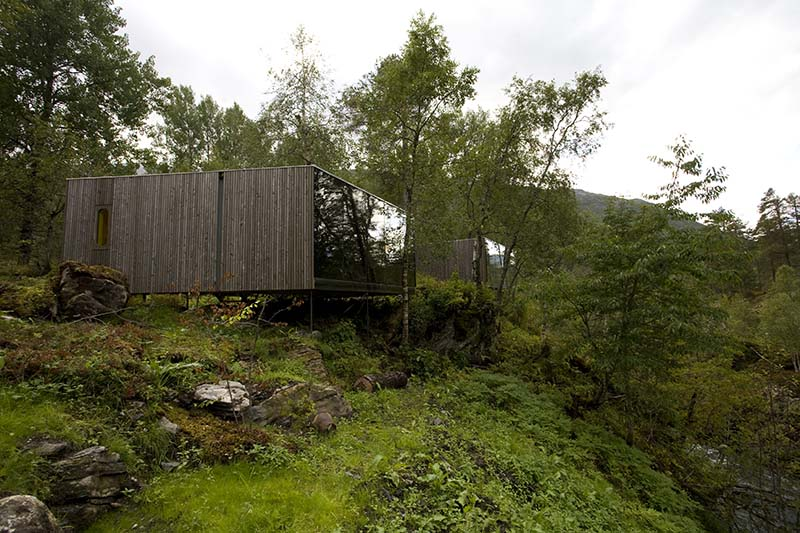 Juvet Landscape Hotel by Jensen and Skodvin Architects 1