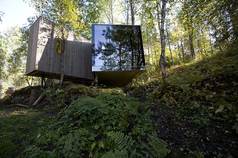 Juvet Landscape Hotel by Jensen and Skodvin Architects 2