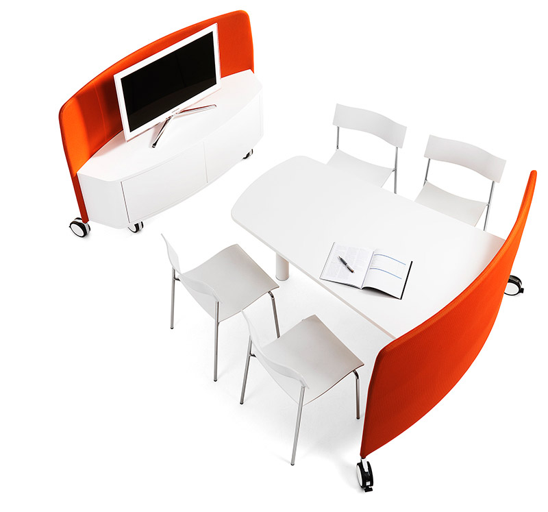Mobi Flexible Mobile Workstation by Abstracta 15