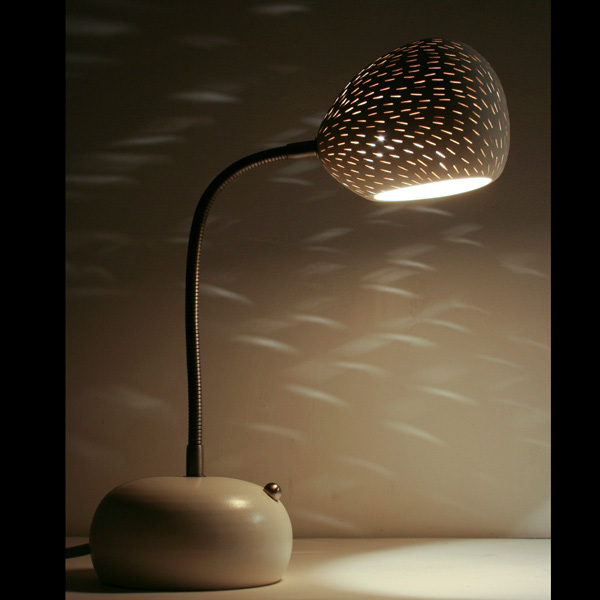 Claylight Porcupine Desk lamp by Sharan Elran 5
