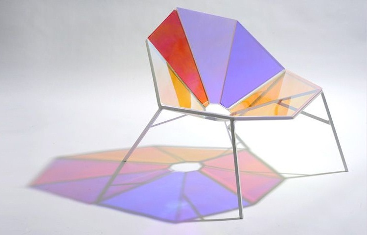 Colorful Transparent Chair Random8 by Pitaya Design 1