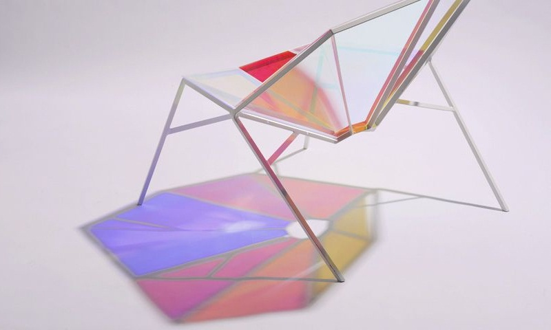 Colorful Transparent Chair Random8 by Pitaya Design 2